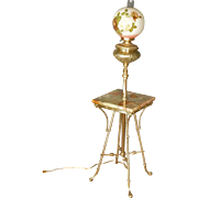 Victorian Piano Lamp, Floor Lamp