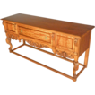 Carved Sideboard with Angels, Server, Buffet