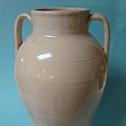 SALE Art Pottery Handthrown Large Vase Jar Unknown Maker