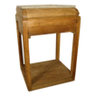 Primitive Pine Stand with Marble Top
