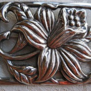 Vintage Sterling Deco Danecraft Brooch