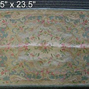 Antique American Woven Wool Rug