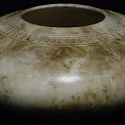 David Greenbaum Large Incised Art Pottery Bowl