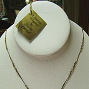 Sasha Brastoff 24K Gold Plated Nugget Necklace