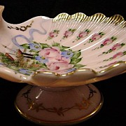 Cambridge Crown Tuscan Large Hand Decorated Shell