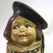 Early German US Navy Sailor Doll - Figurine