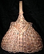 Primitive Hand Woven Egg Basket Buttock Basket Fanny