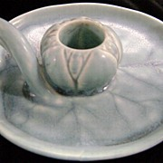1938 Rookwood Lily Pad Candle Holder