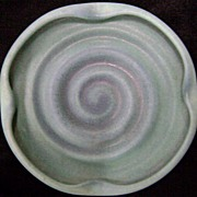 Van Briggle Spiral Ashtray