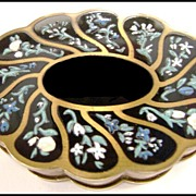 Beautiful Volupte Inlaid Enameled Box