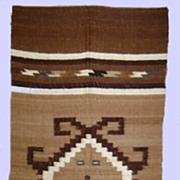 Marvelous Navajo Rug Weaving 1940's