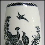 Wedgwood Liverpool Birds Tumbler / Vase 1895 Mark