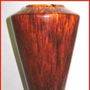 Freeman-McFarlin California Pottery Drip Glaze Vase