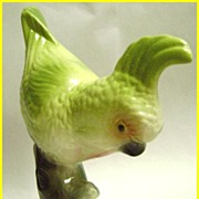 Maddux of California Mid Century Chartreuse Cockatoo
