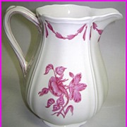Wedgwood Of Etruria & Barlaston Husk Pattern Pitcher