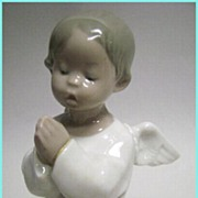 Early Lladro Angel Praying Orando #4538 with Box