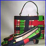 Vintage Andrew Geller Shoes & Hand Bag Purse Set Size 8A/AAA