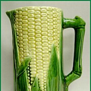 McCoy Corn Pitcher Signed Cusick