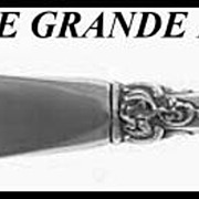 Wallace Sterling Master Butter Knife Grande Baroque