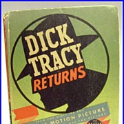 Dick Tracy Returns 1939 Big Little Book #1495