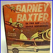 Big Little Book Barney Baxter In The Air with the Eagle Squadron
