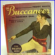 1938 Big Little Book The Buccaneer (Starring Frederic March) #1470