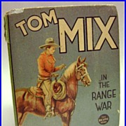 1937 Big Little Book Tom Mix in the Range War #1166