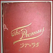 St. Albans School Radford, Virginia 1895 Annual The Promus