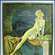 Funeral Home Advertising Thermometer Risque Woman Hot Springs, AR