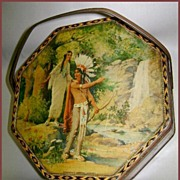 Loose - Wiles Hiawatha Wedding Journey Biscuit Tin