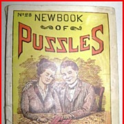 1916 New Book Of Puzzles #28 Ottenheimer