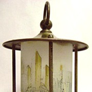 1933 Century Of Progress Chicago World's Fair Lamp by Chase