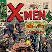 1967 X-Men #38 the Blob the Vanisher VG+/FN-