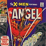 X-Men #44 Silver Age Comic VG 1st Red Raven