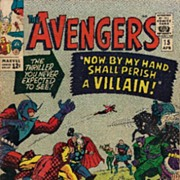 Avengers #15 Silver Age Comic 1965 VG Death of Zemo