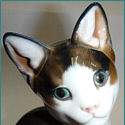 1950's Rosenthal Playful Kitten Hand Painted Karner