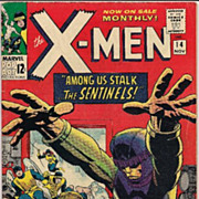 1965 Silver Age X-Men #14 VG+/F- Condition 1st Sentinels
