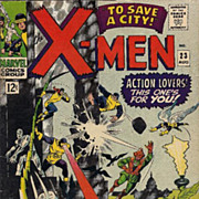 X-Men #23 1966 Silver Age Comic VG/VG+