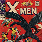 X-Men #24 Silver Age Comic 1966 The Locust