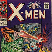 X-Men #30 Comics 1967 VG+/FN- Warlock