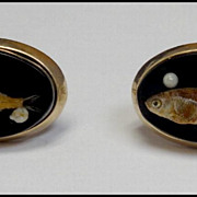Vintage Swank Fish Cuff Links