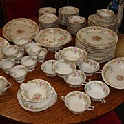 "Vintage China KPM Royal Ivory ""Riviera"" c1935  (95 piece)"