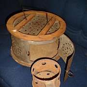 Antique Foot Warmer Buggy Sleigh Heater