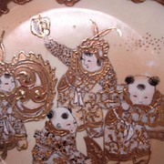 Antique Porcelain Bowl Oriental