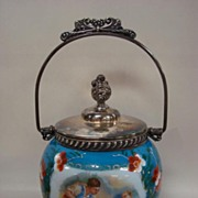 Mount Washington Biscuit Barrel signed Boucher