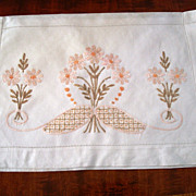 Vintage Society Silk Linen Lingerie Case