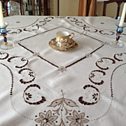 Madeira Tablecloth