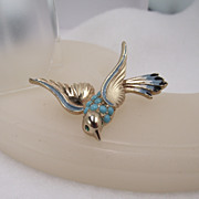 REDUCED Rare Barclay Bird Brooch, Beautifully Crafted!