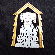 SALE Jonette Jewelry Co. &quot;J.J.&quot; Dalmatian Dog Brooch!
