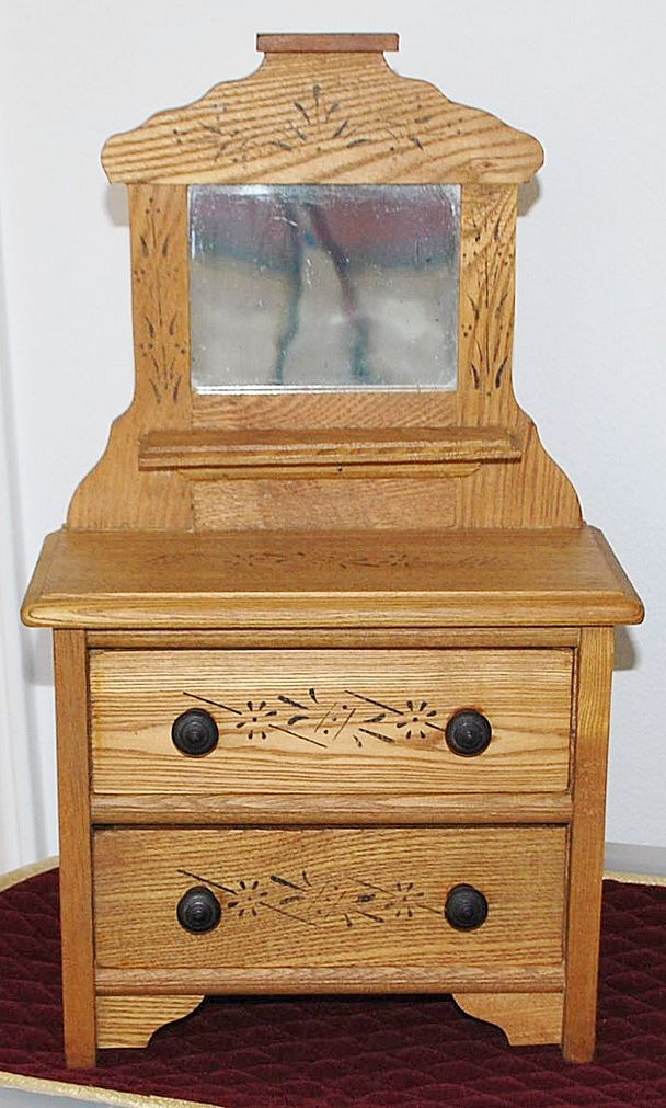 American Miniature Late 19th Century Dresser
